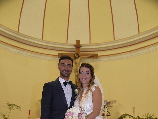 Il matrimonio di Nicola e Virginia a Simaxis, Oristano 8