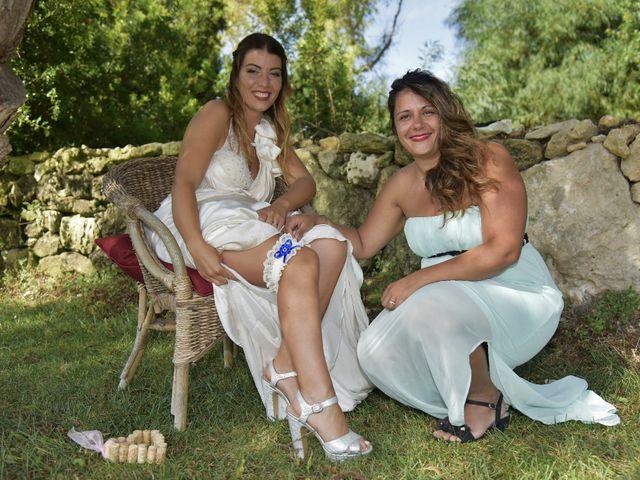 Il matrimonio di Nicola e Virginia a Simaxis, Oristano 10