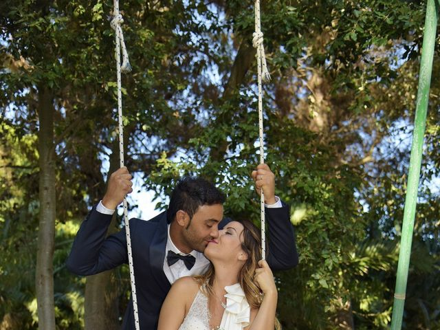 Il matrimonio di Nicola e Virginia a Simaxis, Oristano 12