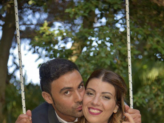 Il matrimonio di Nicola e Virginia a Simaxis, Oristano 13