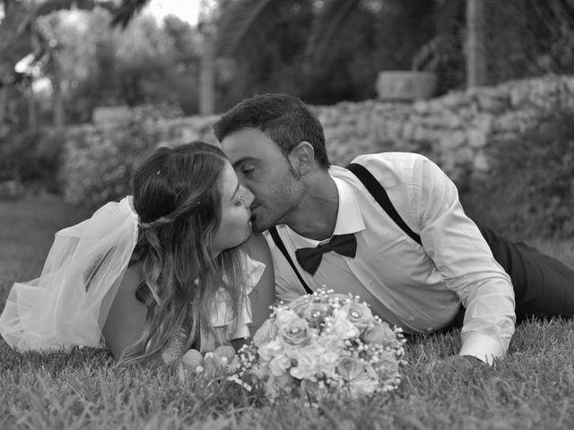 Il matrimonio di Nicola e Virginia a Simaxis, Oristano 14