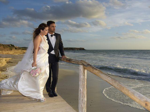 Il matrimonio di Nicola e Virginia a Simaxis, Oristano 15