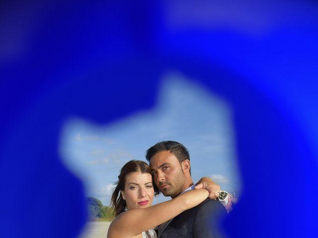 Il matrimonio di Nicola e Virginia a Simaxis, Oristano 23