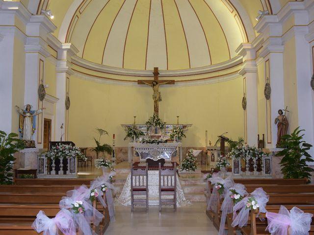 Il matrimonio di Nicola e Virginia a Simaxis, Oristano 24