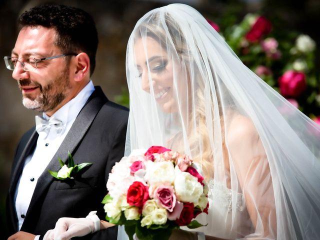 Il matrimonio di Gloria e Gabriele a Frascati, Roma 11