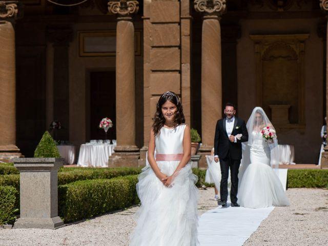 Il matrimonio di Gloria e Gabriele a Frascati, Roma 16