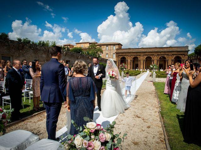 Il matrimonio di Gloria e Gabriele a Frascati, Roma 17
