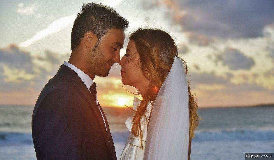 Il matrimonio di Nicola e Virginia a Simaxis, Oristano