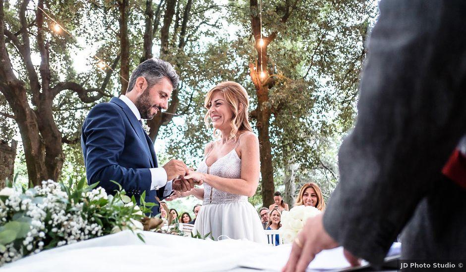 Il matrimonio di Giampaolo e Laura a Orvieto, Terni