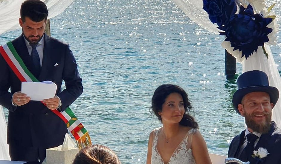 Il matrimonio di Marco e Sara a Lierna, Lecco