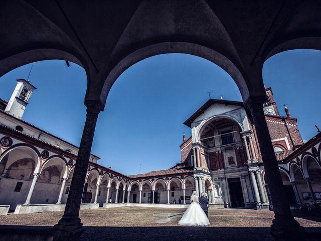 Il matrimonio di Loris e Caroline a Robecco sul Naviglio, Milano 40