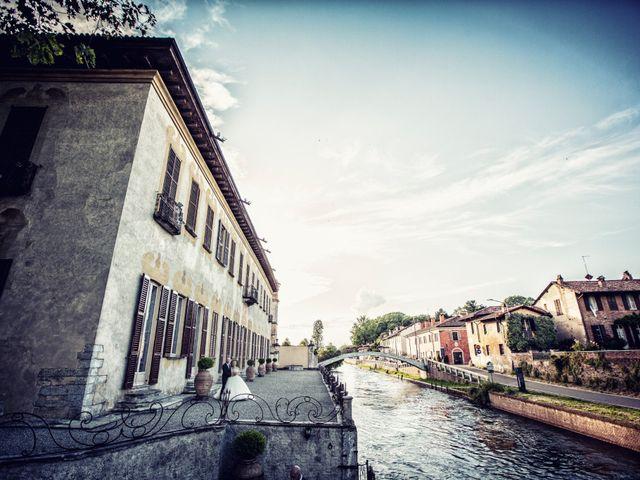 Il matrimonio di Loris e Caroline a Robecco sul Naviglio, Milano 74
