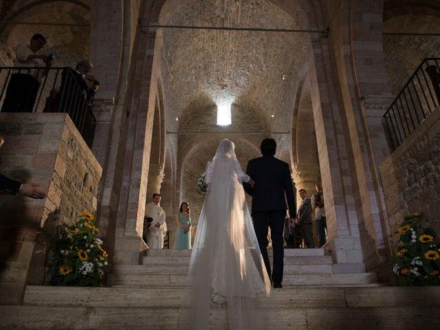 Il matrimonio di Clarissa  e Daniele a Bevagna, Perugia 1