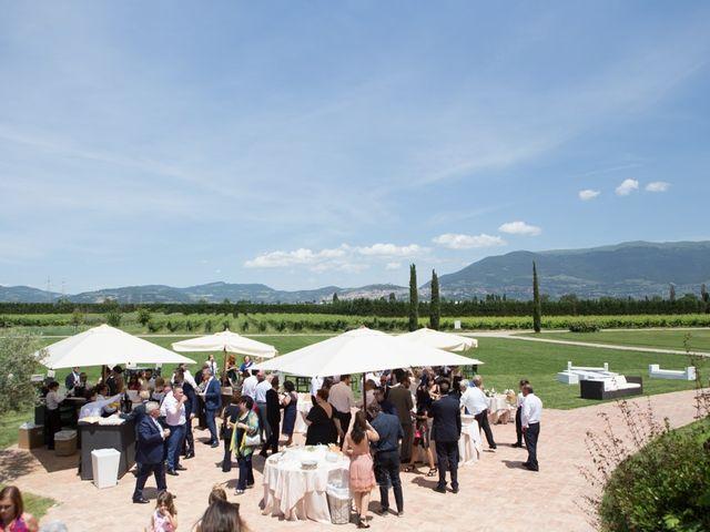 Il matrimonio di Clarissa  e Daniele a Bevagna, Perugia 2
