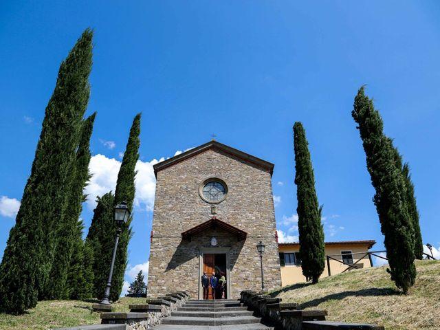 Il matrimonio di Federico e Viorica a Figline Valdarno, Firenze 41