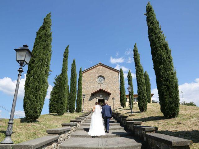 Il matrimonio di Federico e Viorica a Figline Valdarno, Firenze 63
