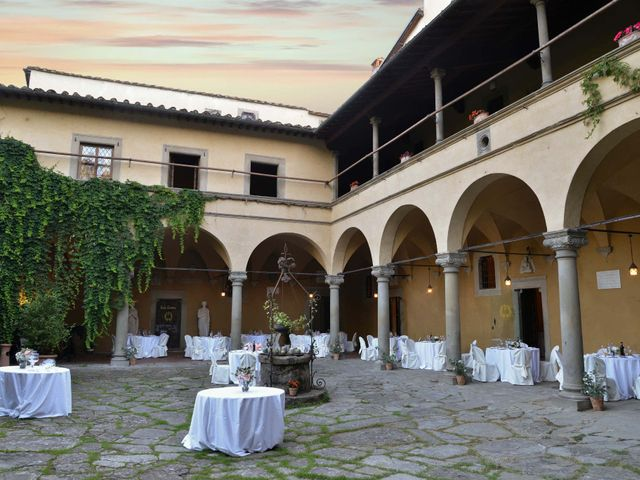 Il matrimonio di Federico e Viorica a Figline Valdarno, Firenze 110