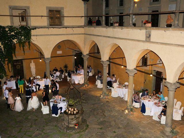 Il matrimonio di Federico e Viorica a Figline Valdarno, Firenze 121