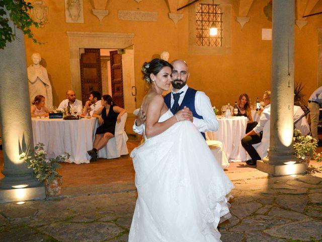 Il matrimonio di Federico e Viorica a Figline Valdarno, Firenze 124