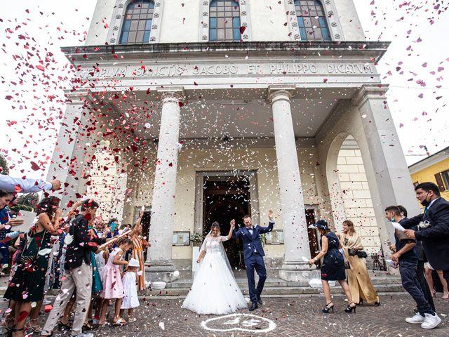 Il matrimonio di Francesco e Sofia a Cornaredo, Milano 97