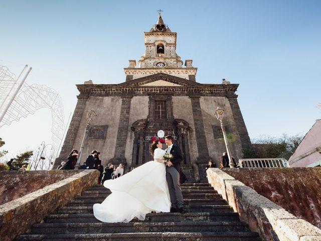 Il matrimonio di Valentina e Antonino a Trecastagni, Catania 28