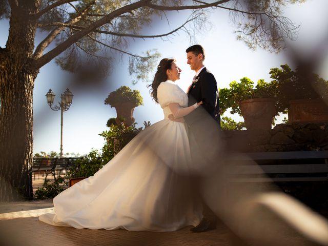 Il matrimonio di Valentina e Antonino a Trecastagni, Catania 32
