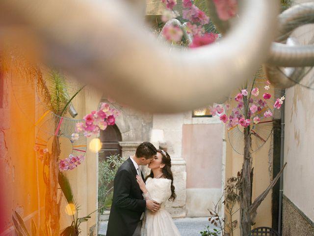 Il matrimonio di Valentina e Antonino a Trecastagni, Catania 49