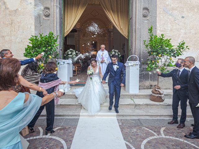 Il matrimonio di Elisabetta e Stefano a Maiori, Salerno 33