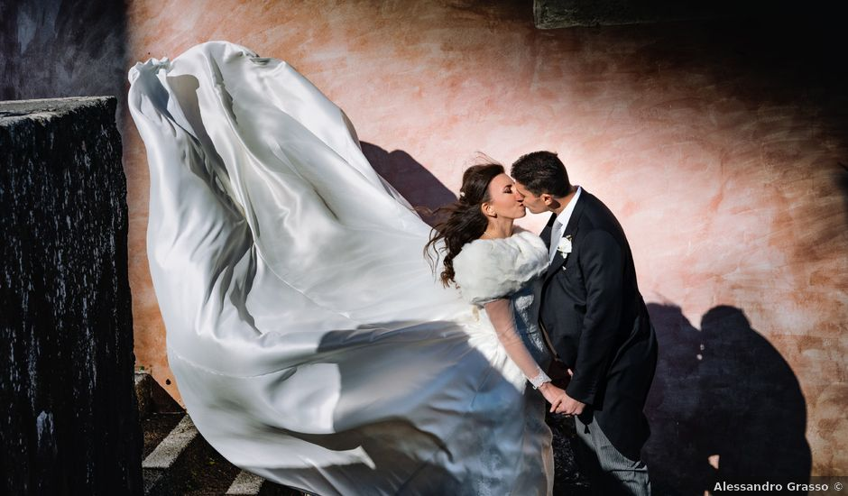 Il matrimonio di Valentina e Antonino a Trecastagni, Catania