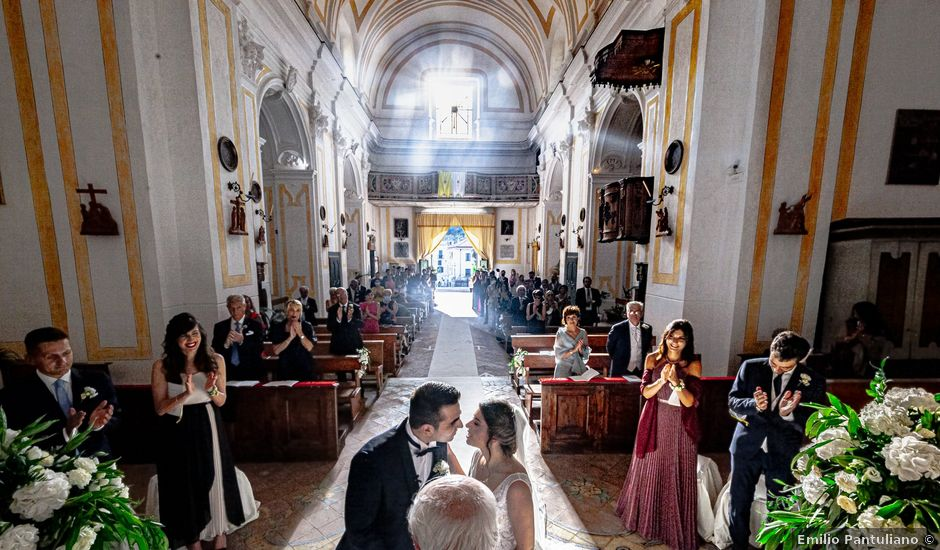 Il matrimonio di Elisabetta e Stefano a Maiori, Salerno