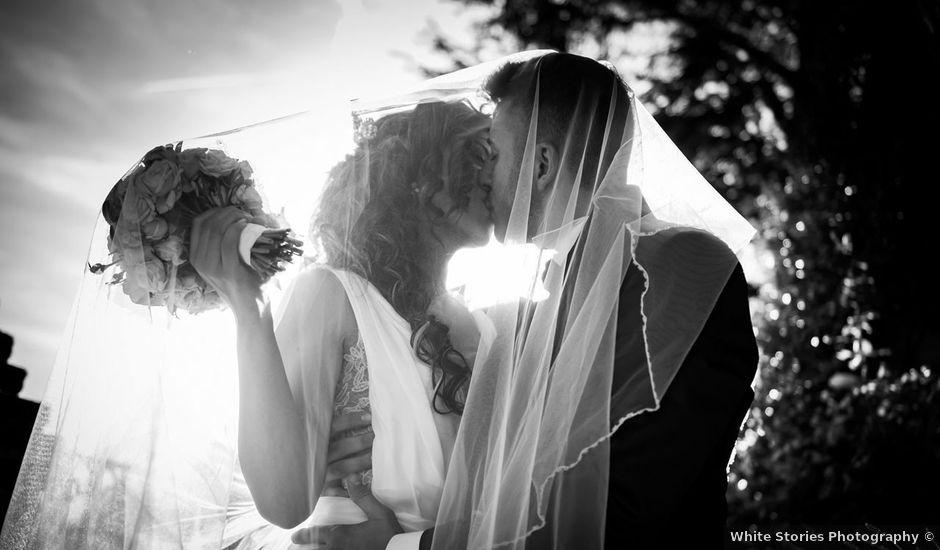 Il matrimonio di Simone e Clara a Pavia, Pavia