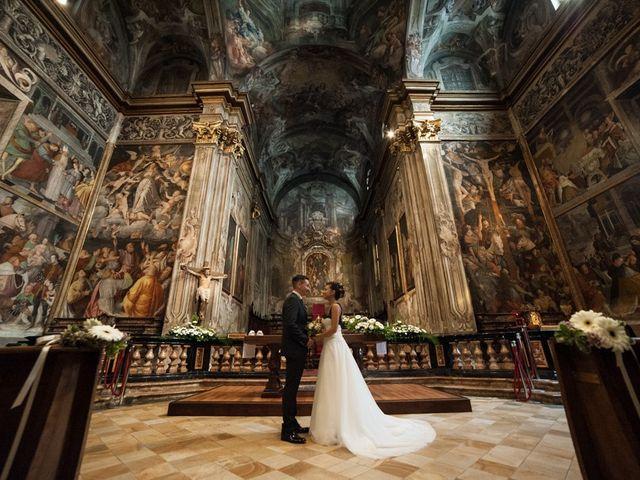 le nozze di Jessica e Emmanuel