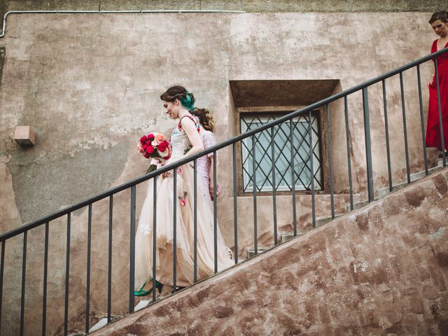 Il matrimonio di Adriano e Peta a Roma, Roma 40