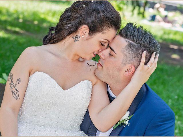 Le nozze di Jessica e Wencel