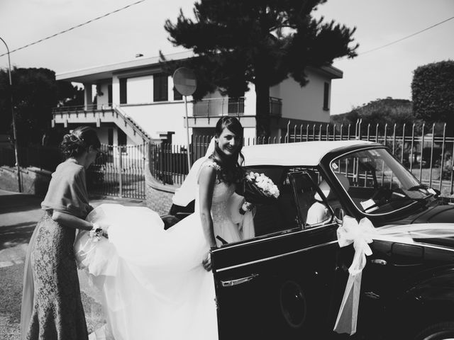 Il matrimonio di Francesco e Stefania a San Miniato, Pisa 21