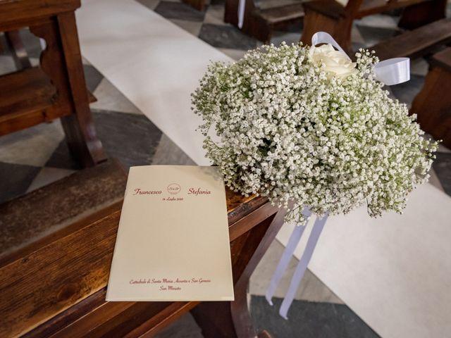 Il matrimonio di Francesco e Stefania a San Miniato, Pisa 23