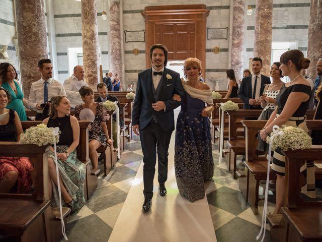 Il matrimonio di Francesco e Stefania a San Miniato, Pisa 24