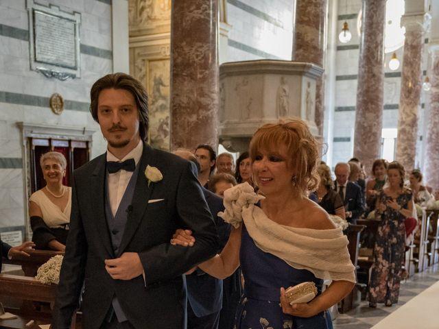 Il matrimonio di Francesco e Stefania a San Miniato, Pisa 25