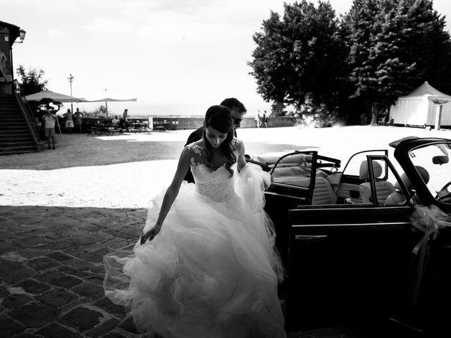 Il matrimonio di Francesco e Stefania a San Miniato, Pisa 28