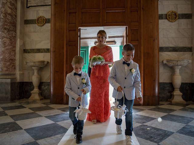 Il matrimonio di Francesco e Stefania a San Miniato, Pisa 31