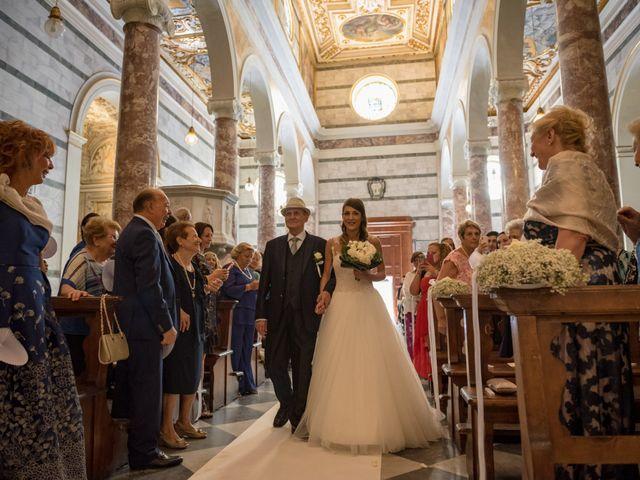 Il matrimonio di Francesco e Stefania a San Miniato, Pisa 34