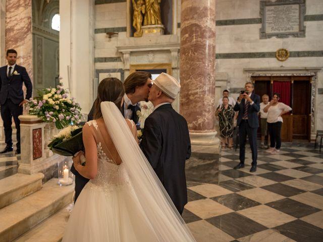Il matrimonio di Francesco e Stefania a San Miniato, Pisa 35