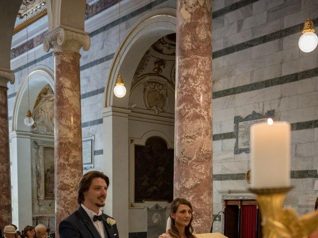 Il matrimonio di Francesco e Stefania a San Miniato, Pisa 36