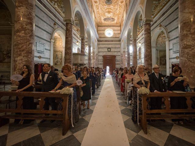 Il matrimonio di Francesco e Stefania a San Miniato, Pisa 39