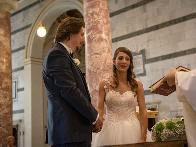 Il matrimonio di Francesco e Stefania a San Miniato, Pisa 43