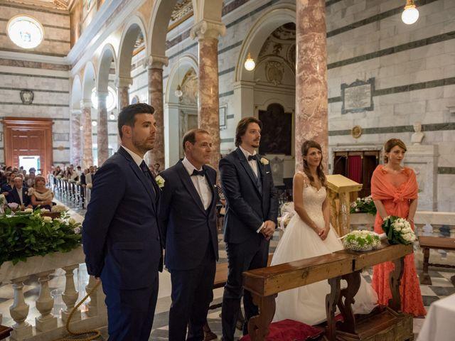 Il matrimonio di Francesco e Stefania a San Miniato, Pisa 52