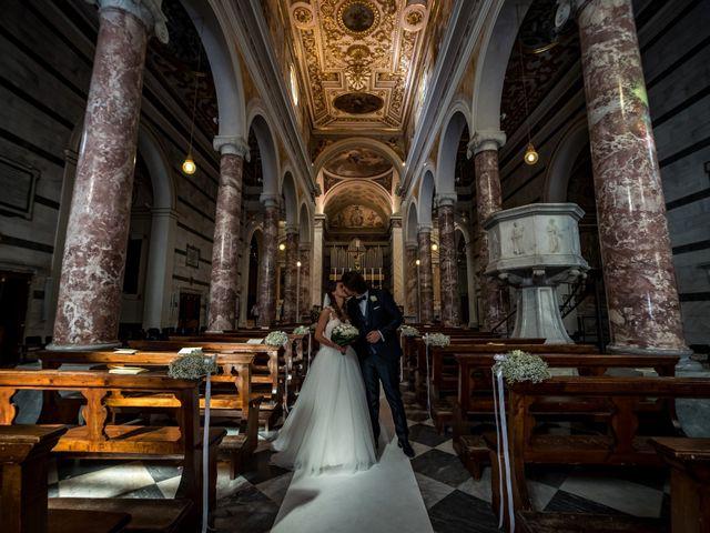 Il matrimonio di Francesco e Stefania a San Miniato, Pisa 57