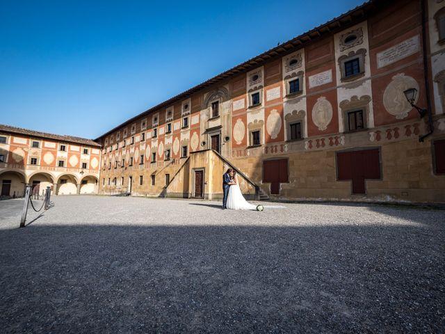 Il matrimonio di Francesco e Stefania a San Miniato, Pisa 63