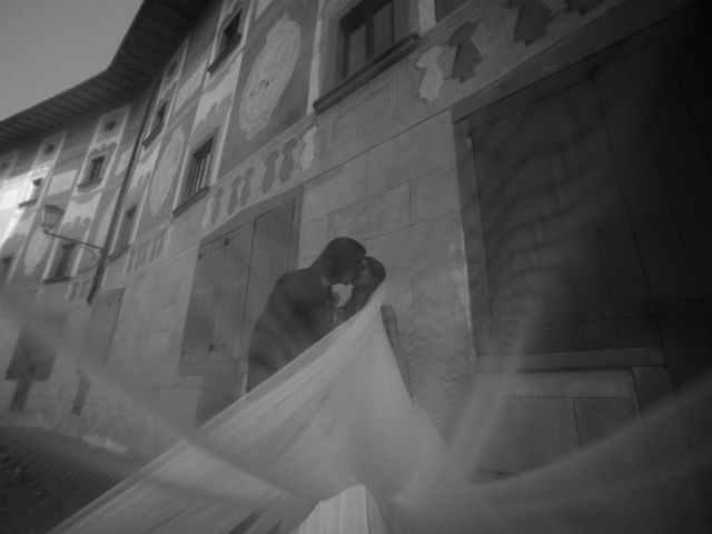 Il matrimonio di Francesco e Stefania a San Miniato, Pisa 65