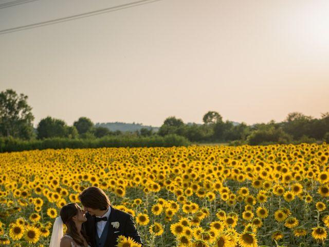 Il matrimonio di Francesco e Stefania a San Miniato, Pisa 67